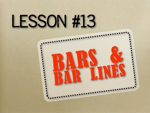 How to Read Music - Lesson 13 - Bars (Measures) and Barlines