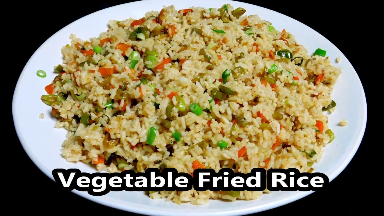 Vegetable fried rice recipe vegetable fried rice recipe ccuart Choice Image