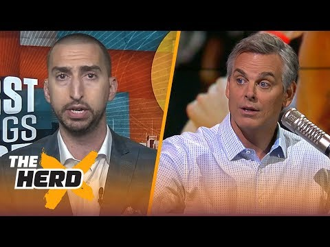 Nick Wright joins Colin to talk Jon Gruden being back in Oakland, LeBron vs Kobe and more | THE HERD