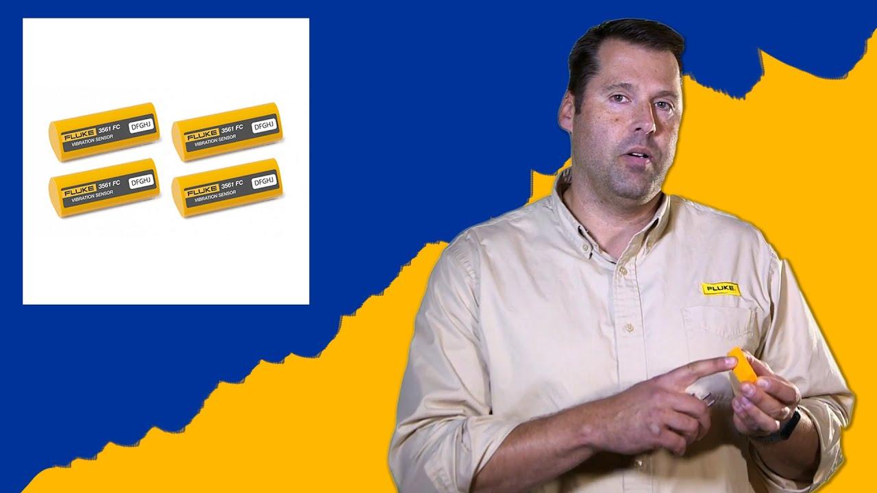 Download Adam Wysor from Fluke talks the 3561 FC Vibration Sensor