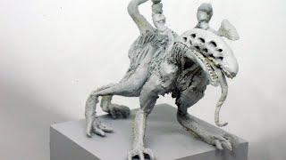 粘土でSAN値が削れそうなクトゥルフ神話のティンダロスの猟犬を作ってみた - Hound of Tindaros Clay Tutorial
