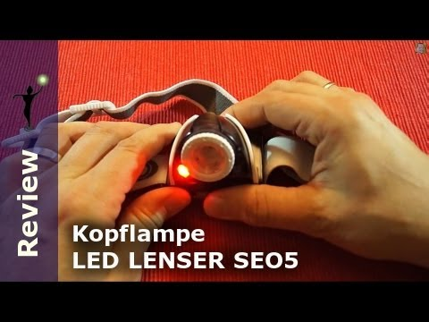 review led lenser kopflampe seo 5 youtube. Black Bedroom Furniture Sets. Home Design Ideas