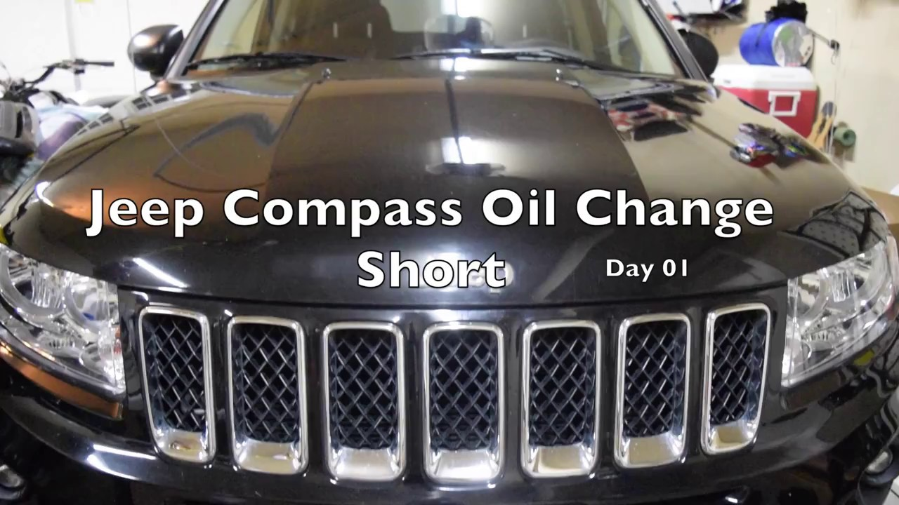 Jeep Compass Oil Change