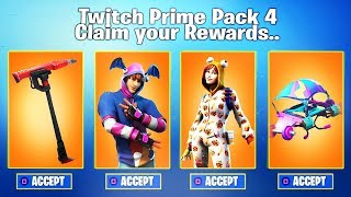 """The NEW """"TWITCH PRIME PACK #3"""" SKINS! (FREE SKINS) - Fortnite Battle Royale"""