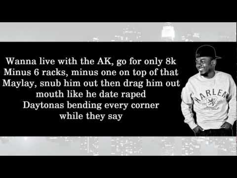 Kendrick Lamar ft. Young Jeezy - Westside, Right On Time (HD & Lyrics On Screen)
