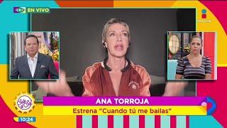 Ana Torroja compuso 'Cuando tú me bailas' aquí en México | Sale el Sol