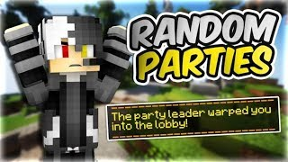 party leader warped me out | bedwars random parties