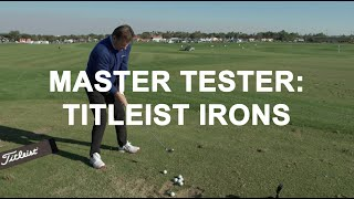 Master Tester: Titleist Irons, with Nick Faldo