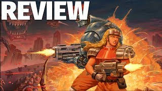 Blazing Chrome Review - Classic Contra-Like Sidescrolling Action (Video Game Video Review)