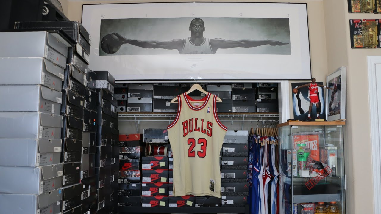 new product c665c b8fcc The Mitchell & Ness Michael Jordan Authentic Gold Jersey