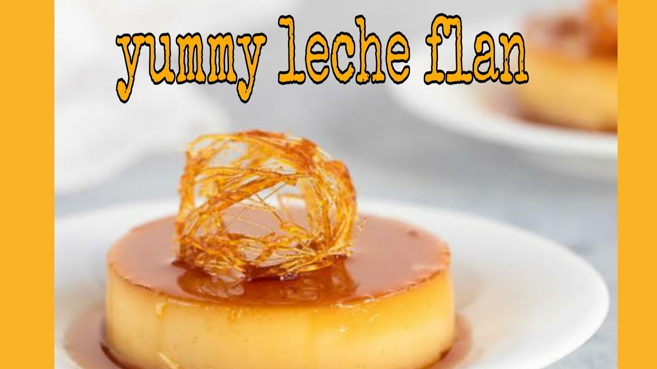 how to make leche flan pinoy style