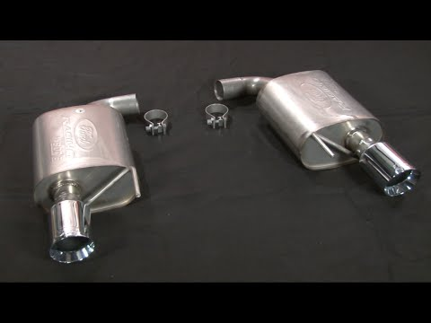 Ford Racing Touring Axle Back Exhaust V