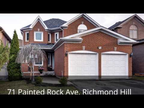 Welcome to 71 Painted Rock Ave, Richmond Hill