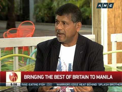 Britain's best coming to Manila