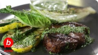 How To Make Barbecued Steak & Vegetables | Summer | That's Fresh With Helen Cavallo | Babble