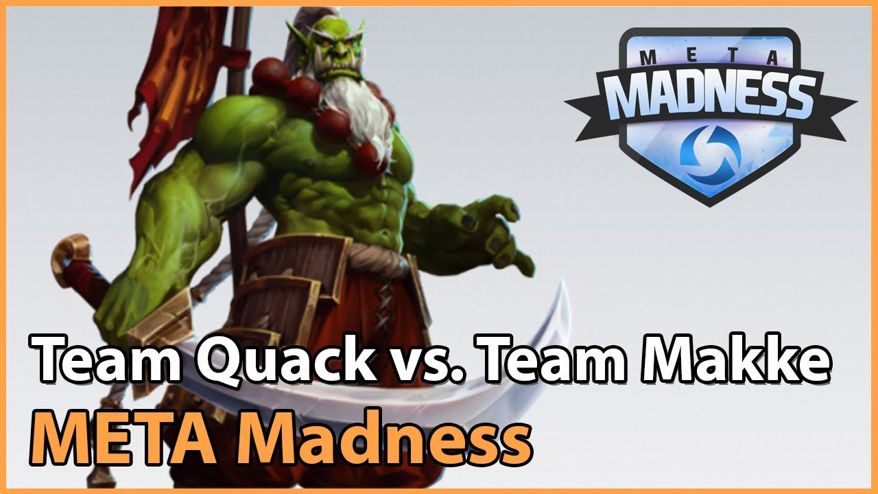 ► Team QuackNiix vs. Team Makke - META Madness Playoffs - Heroes of the Storm Esports