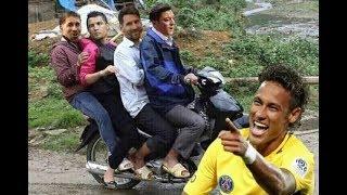 Troll Worlcup 2018, Cr7, Messi, Ramos chia tay neymar