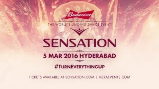#TurnEverythingUp with Budweiser at Sensation 2016