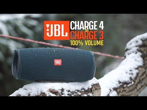 JBL Charge 4 vs Charge 3 - MAX 100% volume TEST