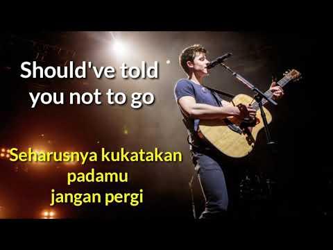 Shawn Mendes - Because I Had You Lyrics ( Terjemahan Indo )