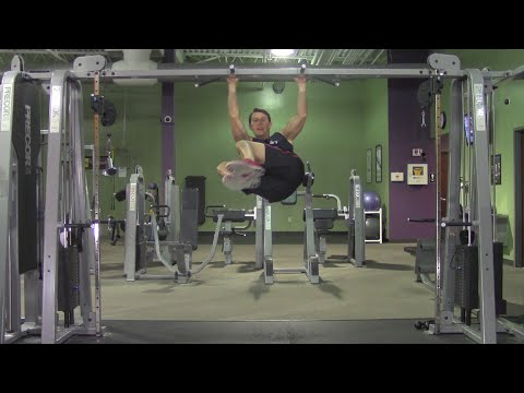 Extreme Abdominal Workout In The Gym