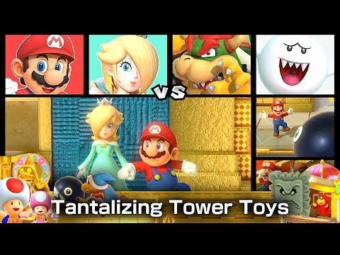 Super Mario Party Mario and Rosalina vs Bowser and Boo #35