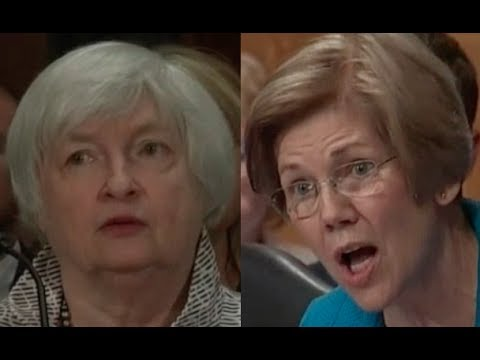 Elizabeth Warren GRILLS Fed Chair Janet Yellen on Wells Fargo's Fake Account Fraud