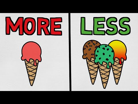 Why MORE Is Often LESS