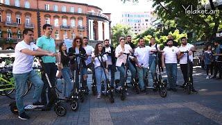 Երևանում արդեն գործում է YerevanRide֊ի gg scooter-ները
