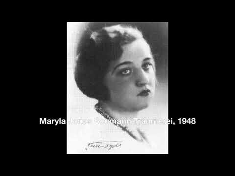 Maryla Jonas Schumann Träumerei, 1948