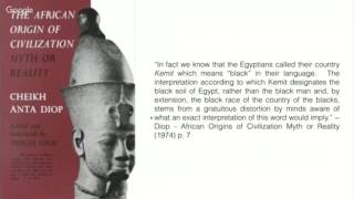 Divine Words Wednesday - Discussions on the meaning of Kemet and Adjectives