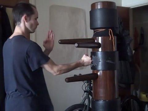 How to make your Mook Jong/Wooden Dummy QUIET!