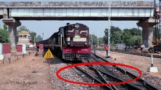 CONSPICUOS FOOTAGE ! ONE OF THE RARE DIAMOND CROSSING OF INDIAN RAILWAYS
