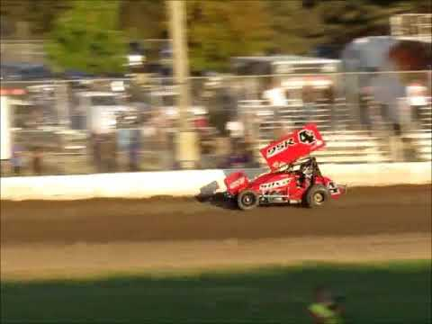 Sprintcars 57th Johnny Key Classic @ Ocean Speedway 8 12 17 part 1