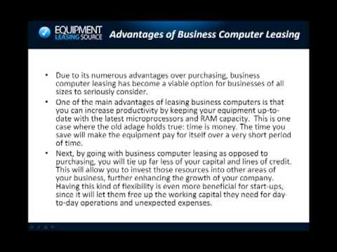 Business Computer Leasing