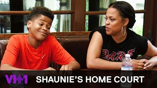 shaqir plans a lit birthday party with strippers sneak peek shaunies home court