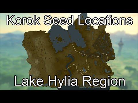 Korok Seed Guide - Lake Hylia Region