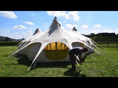 Lotus Belle Mahal Marquee & Lotus Belle Mahal Marquee - YouTube