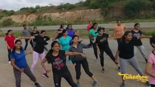 3 PEG - Kannada | Trihedron | Dance fitness | Rapper | Chandan Shetty | Aindrita Ray |