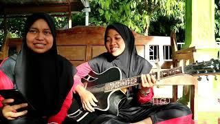 Andmesh - Nyaman    Cover Gitar Fela feat Karen