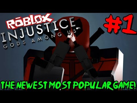 THE NEWEST MOST POPULAR GAME ON ROBLOX! | Roblox: Injustice Online Adventure - Episode 1