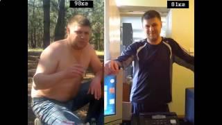 вес 115 кг как похудеть до 80
