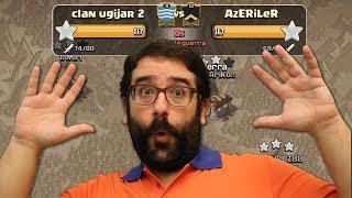 GUERRAZA: Clan Ugijar 2 vs Azeriler | Clash of Clans