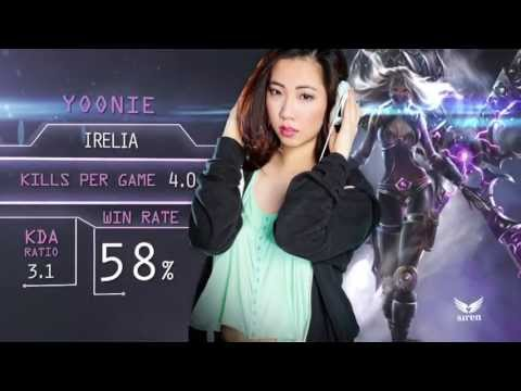 League of Legends all girls team