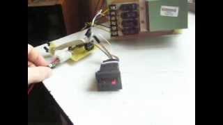 Универсальный 2-х канальный контроллер подогрева сидений + оригинальная кнопка-регулятор Fabia old