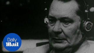 Video Nazi war criminals are sentenced to death at the Nuremberg Trials - Daily Mail download MP3, 3GP, MP4, WEBM, AVI, FLV September 2018