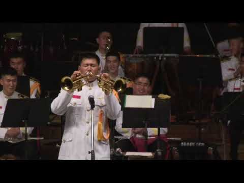 신기한 트럼펫 퍼포먼스 (Funny Trumpet Performance - Republic of Korea Marine Corps)