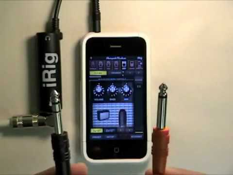 AmpliTube iRig Hardware Guided Tour Video - Plug your guitar into your iPhone and rock
