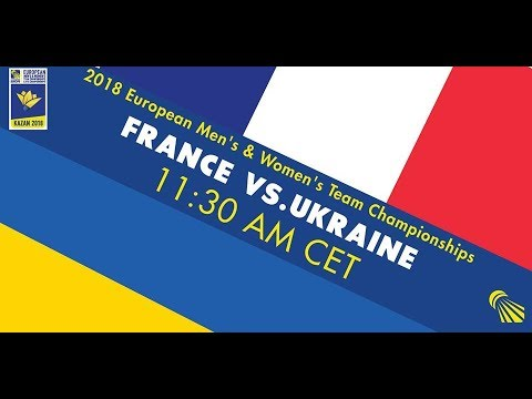 2018 EMTC France - Ukraine (court 1)
