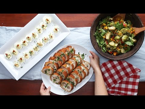 Download Youtube: 4 Recipes for a Tasty Dinner Party